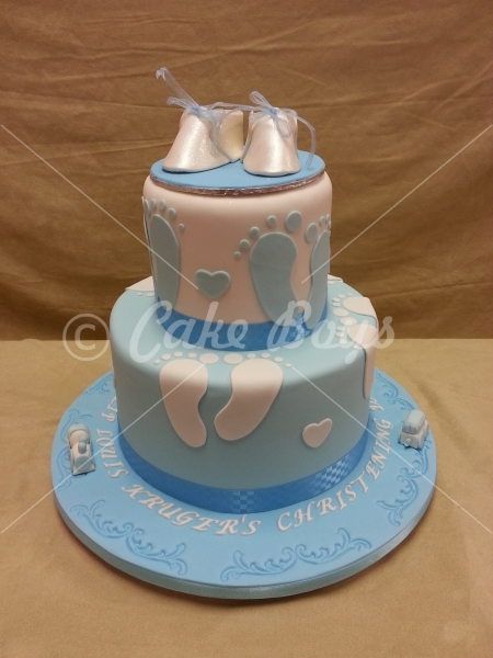 Christening Baby Shower Cakeboys Cake Designers In
