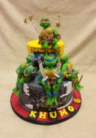 2-tier-turtles-cake