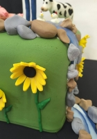 farm cake with animals by Cake Boys in Alberton Johannesburg 5