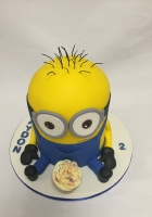 Minion with 1 cupcake cake by Cake Boys in Alberton Johannesburg 5