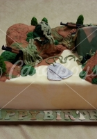 army-cake