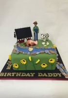 farm cake with animals by Cake Boys in Alberton Johannesburg 1