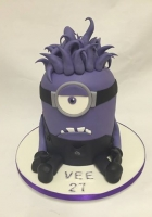 purple minion cake by Cake Boys in Alberton Johannesburg 1