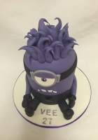 purple minion cake by Cake Boys in Alberton Johannesburg 2