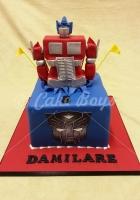 transformer-cake