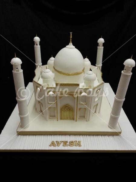 Taj Mahal Birthday Cake
