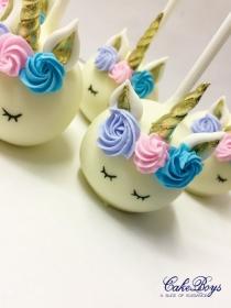 Unicorn pops