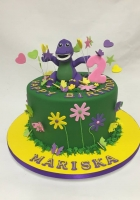 Barney is in his happy place cake by Cake Boys in Alberton Johannesburg 1