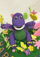 Barney is in his happy place cake by Cake Boys in Alberton Johannesburg 3