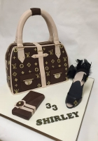 Louis Vuitton cake by Cake Boys in Alberton Johannesburg 2