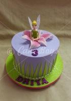 1-tiertinkerbell-cake