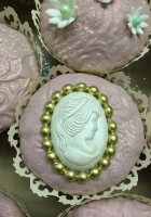 Vintage wedding cupcakes by Cake Boys in Alberton Johannesburg 7