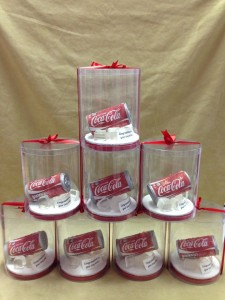 Coca cola corporate novelty cake 1