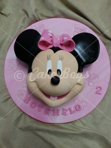 Novelty Cakes -2d-mini-mouse-face