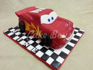 Novelty Cakes -lightning-mc-queen