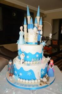 walt disney frozen cake