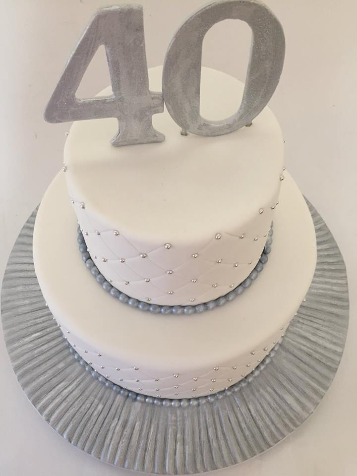Silver And White Birthday Cake By Boys In Alberton Johannesburg 2