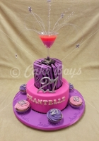 21st cakes - cocktails-and-cupcakes-cake