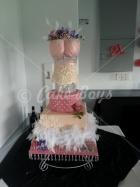 21st cakes - michelle-cake