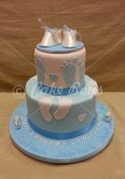 2-tier-baby-bootie-cake