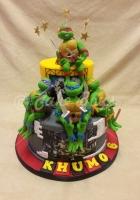 2-tier-turtles-cake