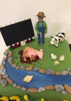 farm cake with animals by Cake Boys in Alberton Johannesburg 2