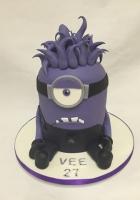 purple minion cake by Cake Boys in Alberton Johannesburg 1