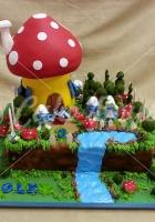 smurfs-cake