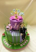 2-tier-tinkerbel-cake