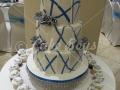 3-tier-blue-pattern-cake